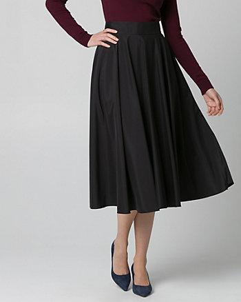 Taffeta Flare Skirt