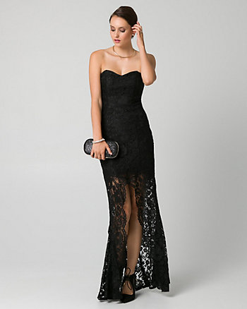 Corded Lace Sweetheart Gown