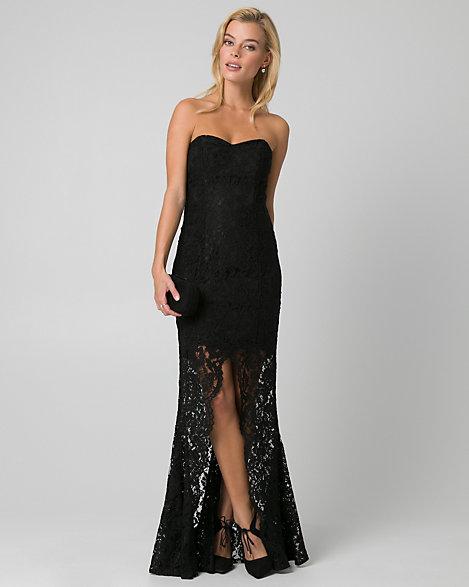 Lace Sweetheart Dress