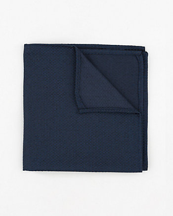 Tonal Viscose Blend Pocket Square