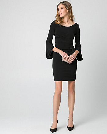 Knit Drama Sleeve Dress