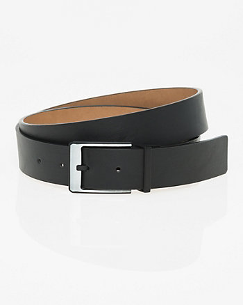 Reversible Leather-Like Prong Belt