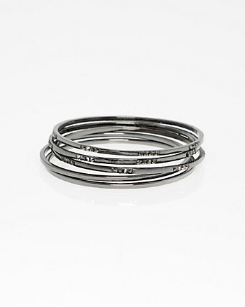Set of Bangle Bracelets