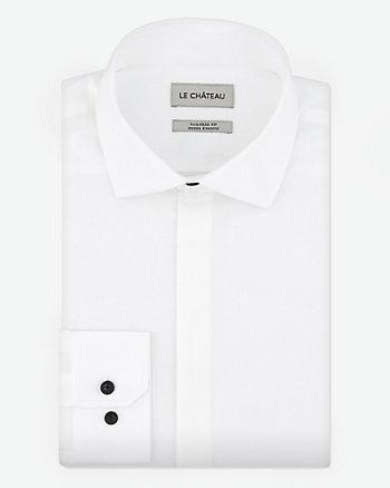 Stretch Poplin Tailored Fit Shirt
