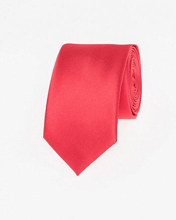 Cravate étroite en microfibre