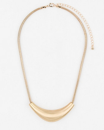 Metal Collarbone Necklace