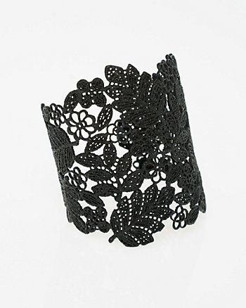 Metal Filigree Open Cuff Bracelet