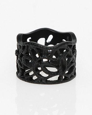 Metal Filigree Ring