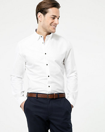 Cotton Oxford Tailored Fit Shirt
