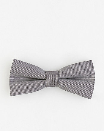 Two-Tone Stretch Twill Bow Tie