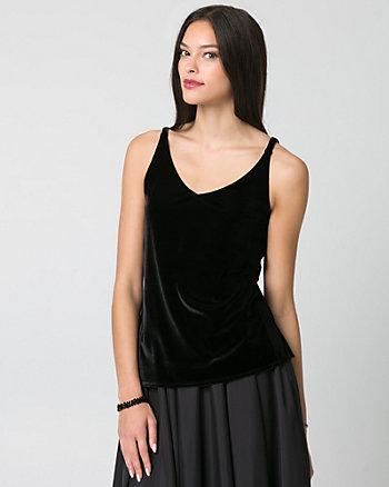 Velvet V-Neck Camisole