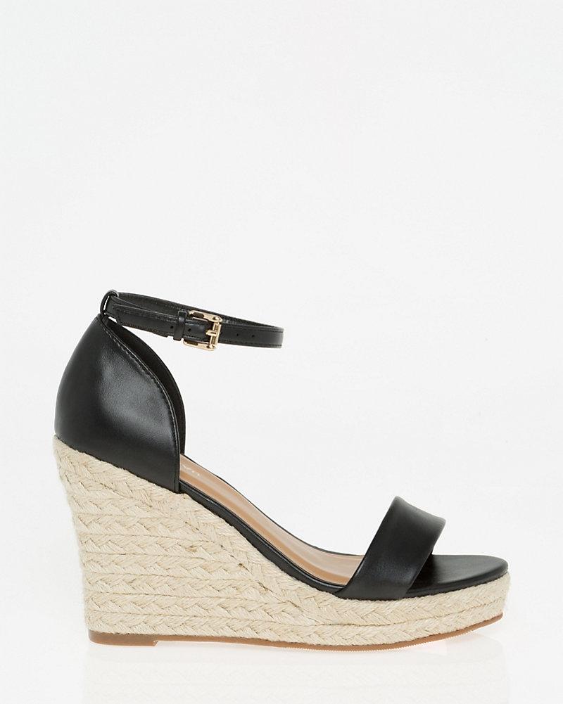 1a2efa1f3 Ankle Strap Rope Wedge Sandal