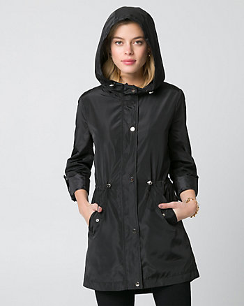 Woven Hooded Anorak