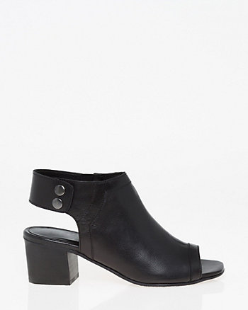 Leather Slingback Shootie