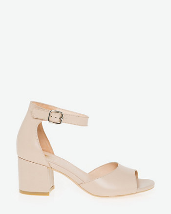 Leather Ankle Strap Sandal