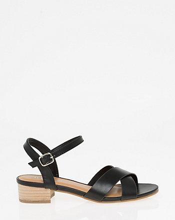 Open Toe Criss-Cross Sandal