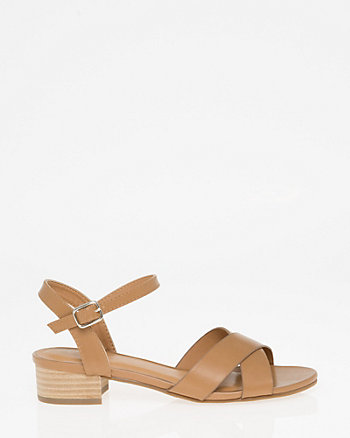 Open Toe Criss-Cross Sandal