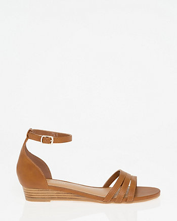 Strappy Ankle Strap Wedge Sandal