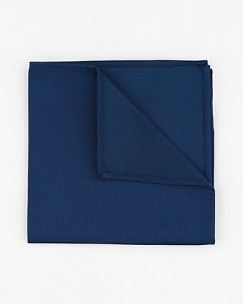 Two-Tone Microfibre Pocket Square