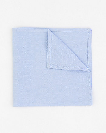 Cotton Oxford Pocket Square