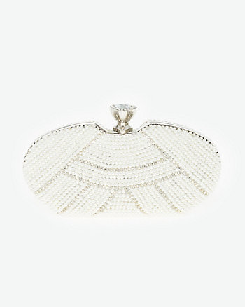 Jewel Embellished Minaudière
