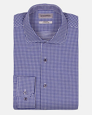 Check Print Cotton Regular Fit Shirt