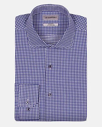 Check Print Cotton Regular Fit Shirt