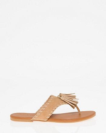 Fringe Thong Sandal