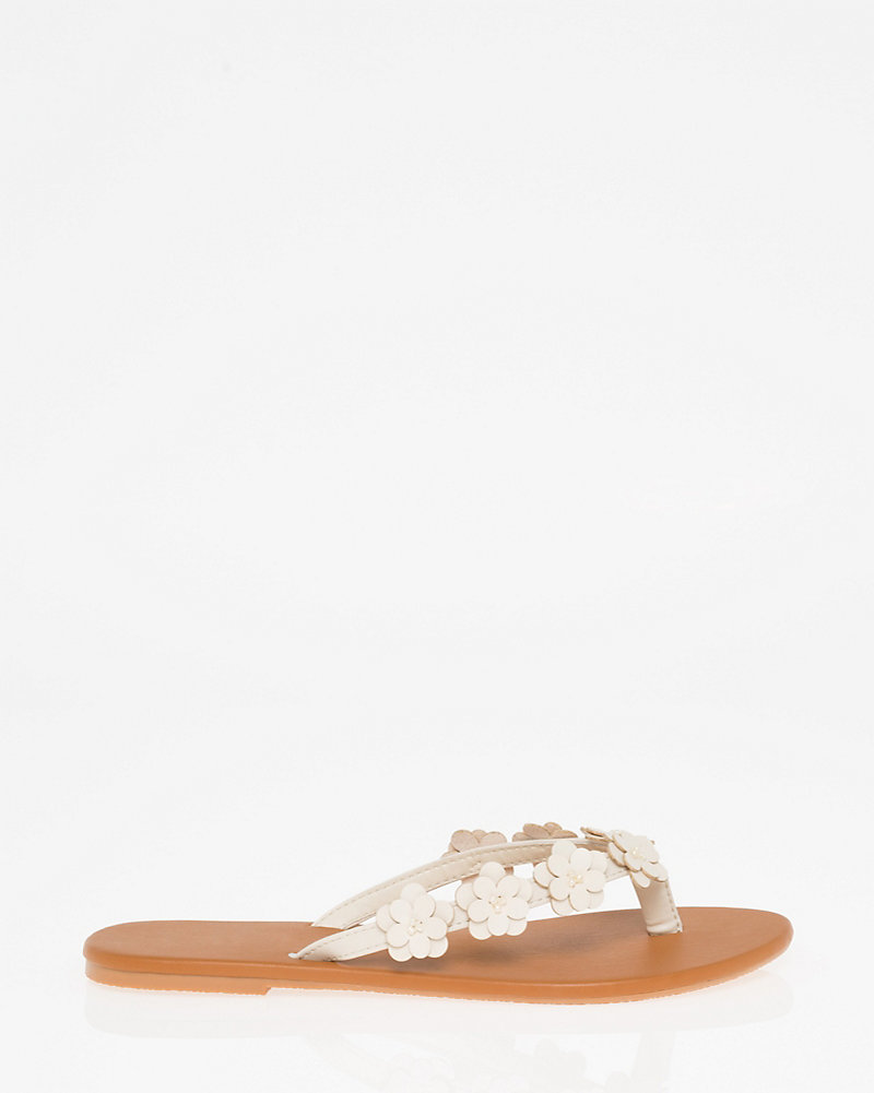 063acfe0f972 Floral Thong Sandal