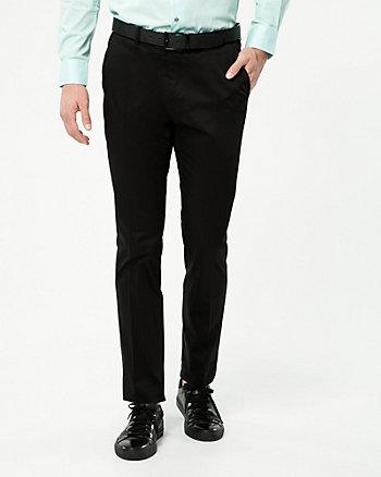 Sateen Slim Leg Pant