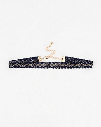 Lace Choker Necklace