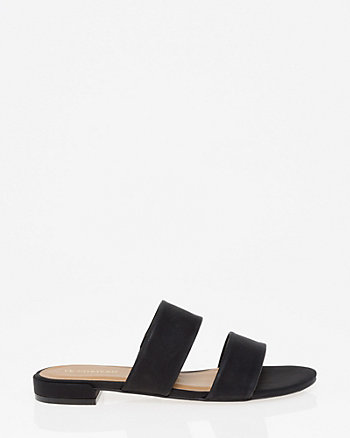 Double Band Slide Sandal