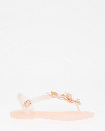 Flower Jelly Sandal