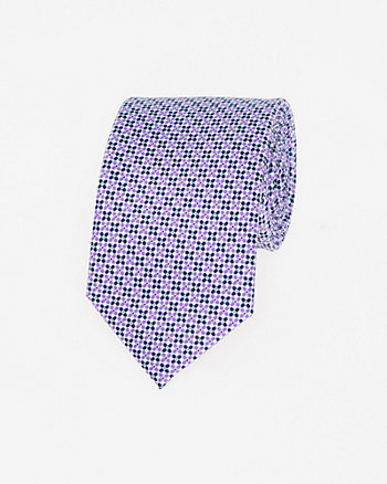 Novelty Print Woven Skinny Tie