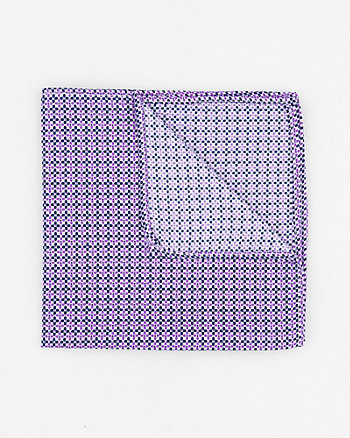 Novelty Print Woven Pocket Square