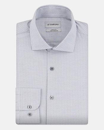 Chemise rayée en coton
