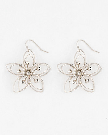 Flower Metal Earrings