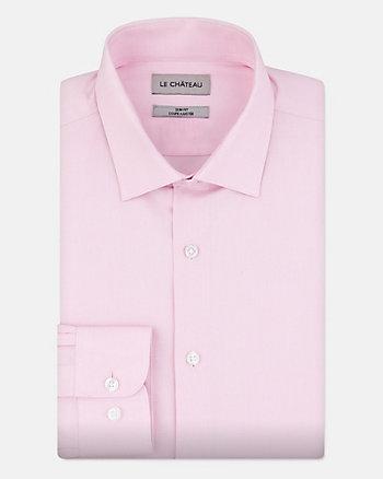 Chemise de coupe ajustée en coton