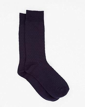 Printed Bamboo Blend Socks