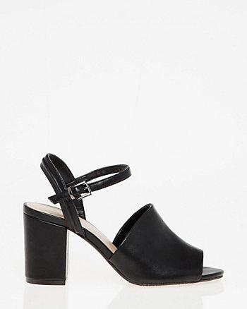 Sandale à bout ouvert