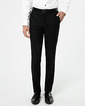 Shadow Check Slim Leg Pant