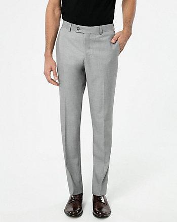 Viscose Blend Slim Leg Pant
