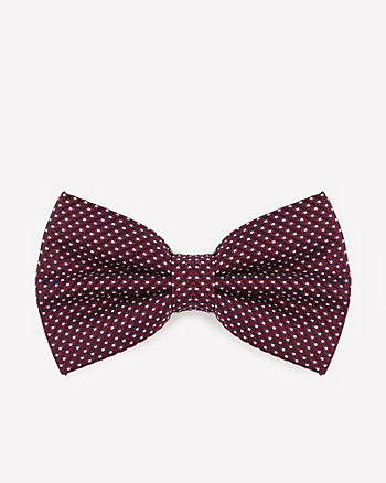 Novelty Print Silk Bow Tie