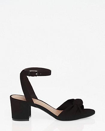 Knot Ankle Strap Sandal