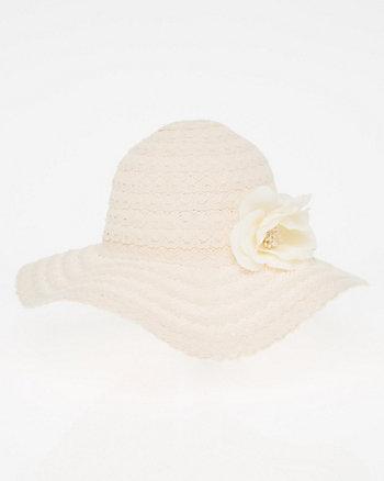 Lace Floppy Hat