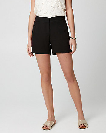 Viscose Crêpe Shorts