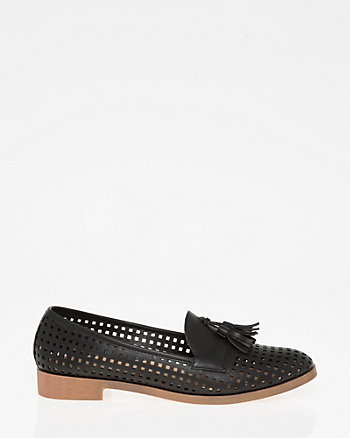 Perforated Round Toe Loafer