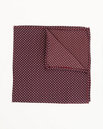 Novelty Print Silk Pocket Square
