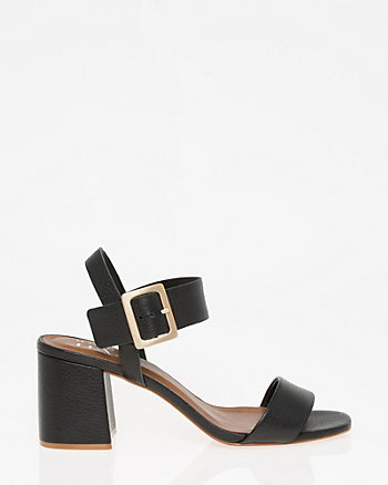 Brazilian-Made Leather Buckle Sandal