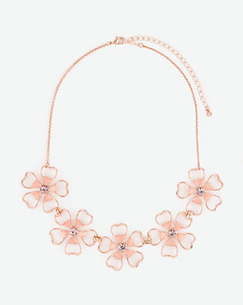 Flower Collarbone Necklace